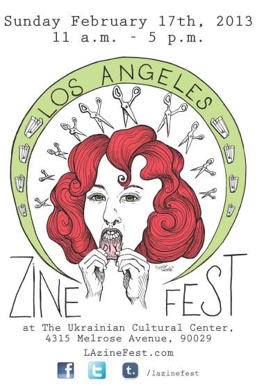 LA Zine Fest 2013 Today!