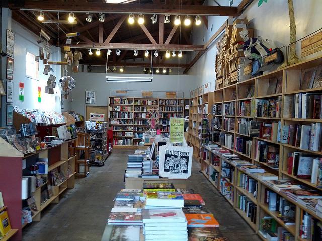 Skylight Books' Zine Annex by Cory Doctorow