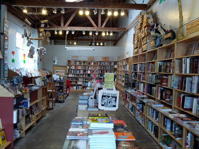 Skylight Books' Zine Annex by Cory Doctorow