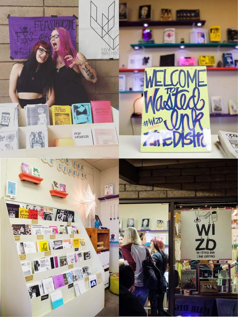 WASTED INK ZINE DISTRO